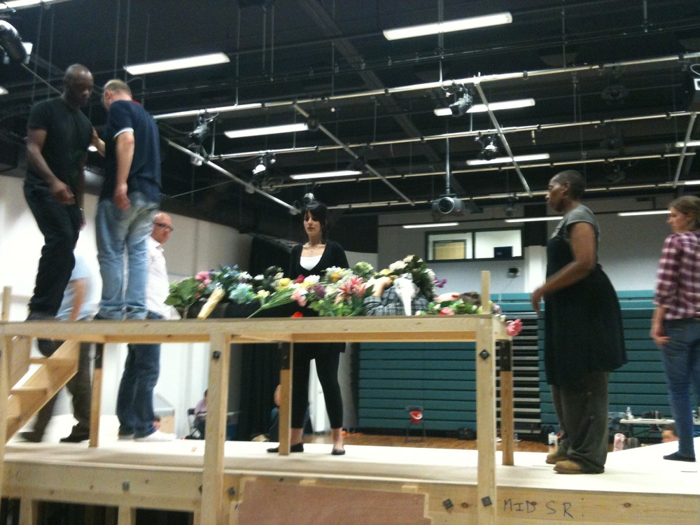 A great week at Jo Ro School rehearsing R&J #kissbythebook ...