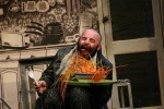 Jesse Inman as Mr Twit - The Twits Bolton Octagon and Artsdepot London 2004/5 Directed by Marcus Romer