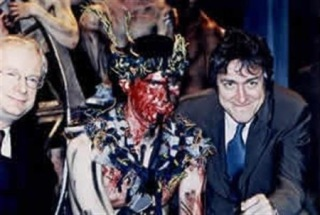 Lord of The Flies Lyric Theatre Hammersmith. 2000 a visit by Culture Secretary Chris Smith and Griff Rhys Jones. Directed by Marcus Romer