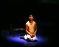 Mitesh Soni as Simon in Lord of the Flies 2004. Directed by Marcus Romer