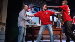 Sing yer heart out for the lads - by Roy Williams directed by Marcus Romer 2006/7 National Tour